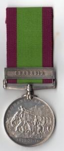 Afghanistan Charasia Rev 7152 Gr W Curran G/3rd RA