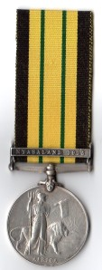 AGSM Nyasaland 1915 Rev 838 Pte Sukali Depot Coy 1/ KAR