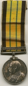 AGSM Somaliland 1902-04 Obv P. Murray Sto - HMS Hyacinth