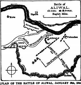 Plan of Battle of Aliwal