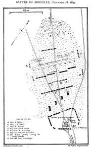 Plan of Battle of Moodkee