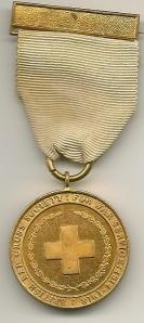 British Red X War Svs Medal Obv