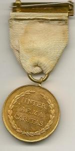 British Red X War Svs Medal Rev