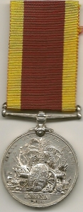 China War Medal 1900 RMA Rev H W Jeffery - Gunner RMA
