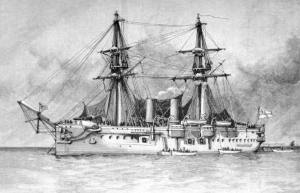 HMS Temeraire 1876