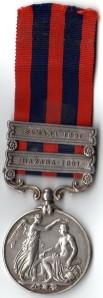 4510 Pte F king 1st Bn K.R. Rif. C