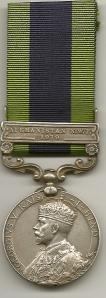 IGSM Afghanistan NWF  1919 KGD Obv 7673 L-Cpl F Hursey 1 Kings DG