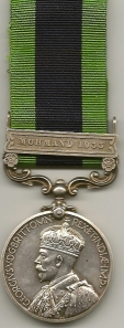 IGSM Mohmand 1933 Obv 800954 Gunr J. Sneddon R.A.