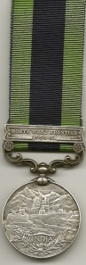 IGSM North West Frontier 1930-31 Rev 64108 DVR. Bhan Singh. 27 A.T. Coy
