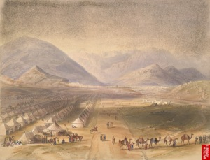 Kabul during the First Anglo Afghan War 1839-42