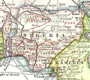 Nigeria 1909