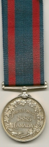 North West Canada Medal Rev