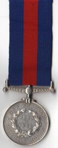 NZ Medal 1860-66 Rev - 3457. Stepn Bellingham, !st Bn 12th Regt