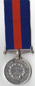 NZ Medal 1861-66 Rev 1536 Timty Lawlor 2nd Bn 14th Regt.