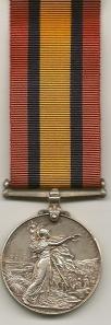 Queen's Mediterranean Medal 7777 Pte J.E. Walton Yorks L I