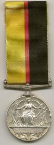 Queens Sudan Medal Rev