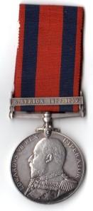 Transport Medal Obv L Johnston Chief Engineer SS Laurentian