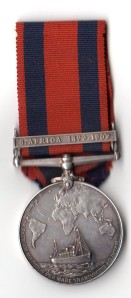 Transport Medal Rev L Johnston