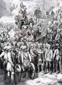 Troops at Kandahar_1880